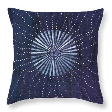 Mandala For 3rd Eye Opening Throw Pillow