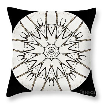 Mandala - Talisman 3779 Throw Pillow