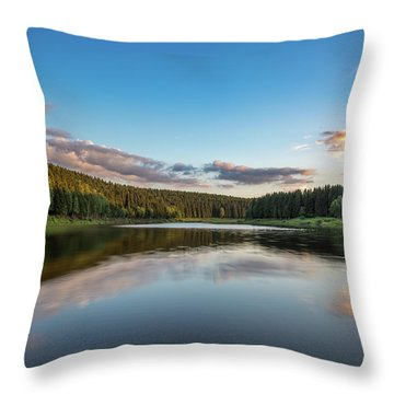 Mandelholz, Harz Throw Pillow
