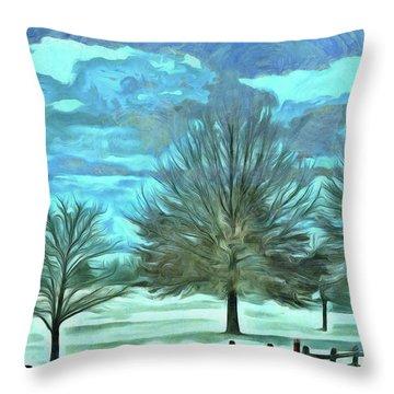 Mandisa Throw Pillow by Trish Tritz