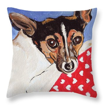 Mandy Throw Pillow by John Keaton