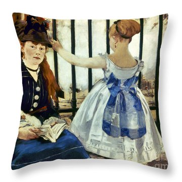 Manet Throw Pillows