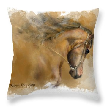 Mangalarga Marchador Throw Pillow