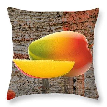 Mango Collection Throw Pillow