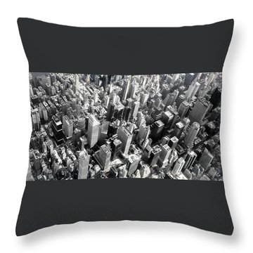 Manhattan  Throw Pillow