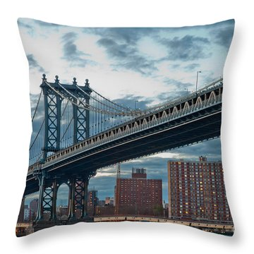 Manhattan Classic Throw Pillow