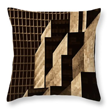 Manhattan No. 3 Throw Pillow by Joe Bonita
