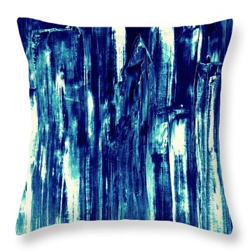 Manhattan Nocturne Throw Pillow