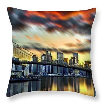 Manhattan Passion Throw Pillow