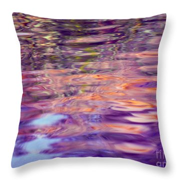 Manifesting Pleasure Throw Pillow