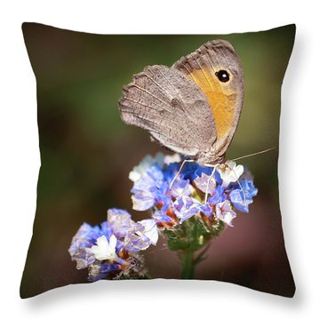 Maniola Telmessia Throw Pillow