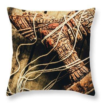 Manipulating The Trojans  Throw Pillow