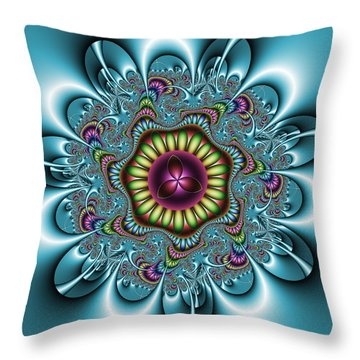 Manisadvon Throw Pillow