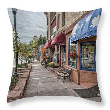 Manitou Throw Pillow