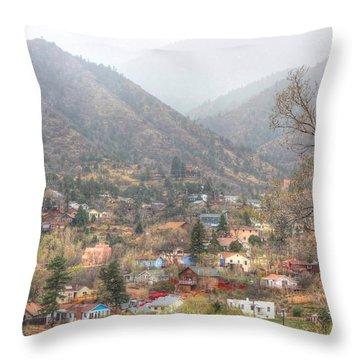 Manitou To The South Iv Throw Pillow