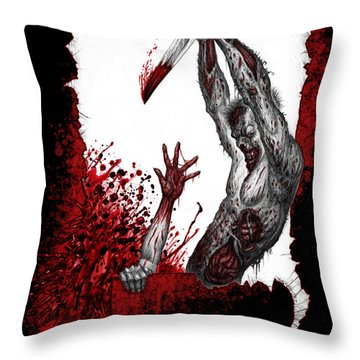 Mankind Dismissed Throw Pillow
