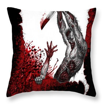 Mankind Dismissed Throw Pillow by Tony Koehl