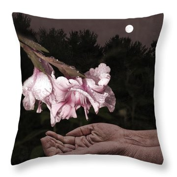 Manna Throw Pillow