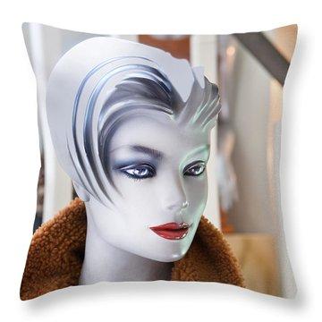 Mannequin 74a Throw Pillow