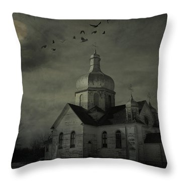 Mannerisms Of Midnight  Throw Pillow