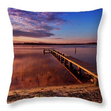 Manning Point 666 Throw Pillow by Kevin Chippindall
