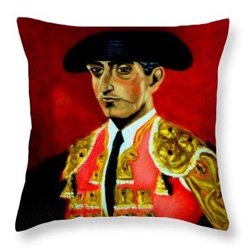 Manolete  Throw Pillow