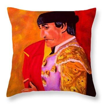 Manolete1 Throw Pillow