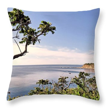 Manomet Throw Pillow