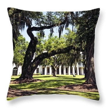 Manresa In Convent In La Throw Pillow
