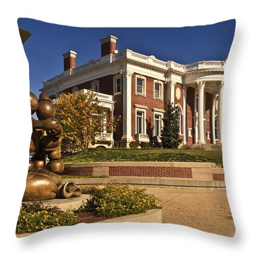 Mansion Hunter Museum Throw Pillow