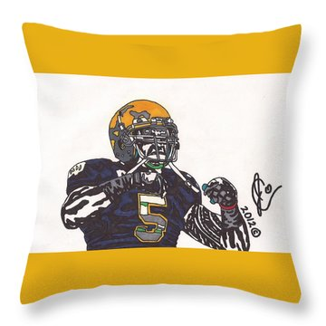 Manti Te'o 1 Throw Pillow