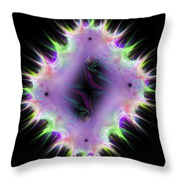 Mantiliacs Throw Pillow