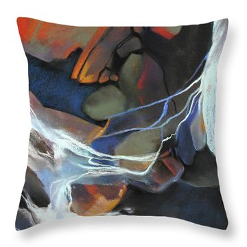 Mantled Epoch Throw Pillow by Rae Andrews