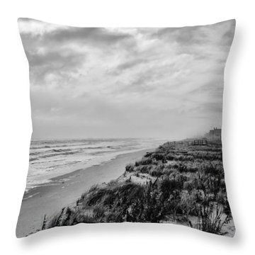 Mantoloking Beach - Jersey Shore Throw Pillow