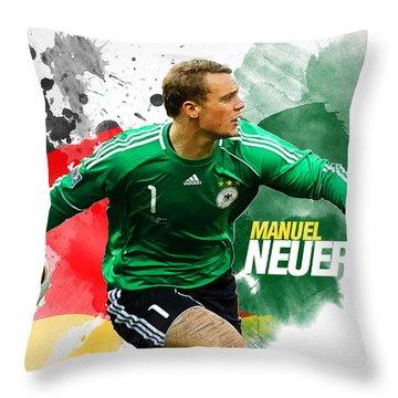 Manuel Neuer Throw Pillow