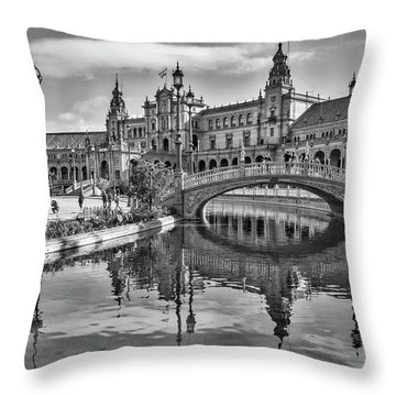 Many Angles To Shoot Throw Pillow