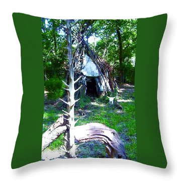 Many Journies Throw Pillow
