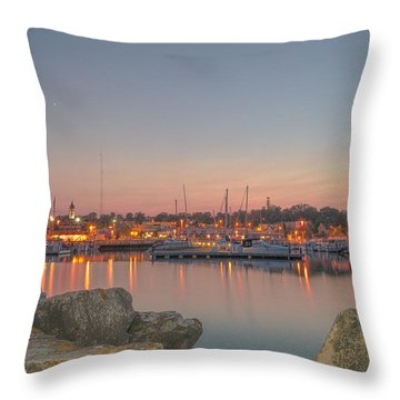 Many Lights Throw Pillow