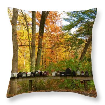 Many Shapes And Sizes Throw Pillow