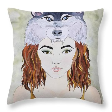 Many Women Throw Pillow