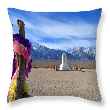 Manzanar Throw Pillow