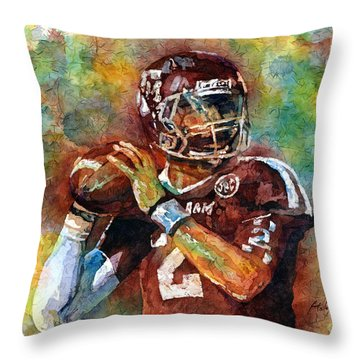 Manziel Throw Pillow