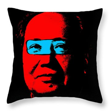 Mao 2 Throw Pillow