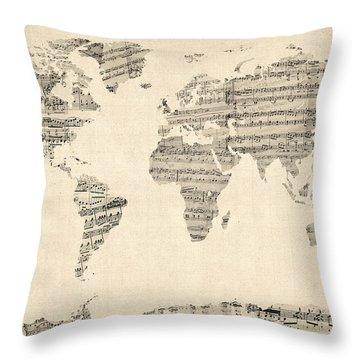 Antique Throw Pillows