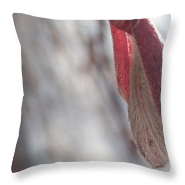Maple Opening Throw Pillow