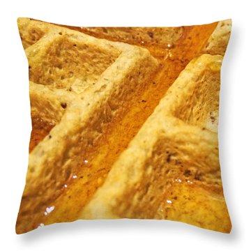 Maple Street Throw Pillow
