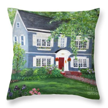 Maplewood Colonial Throw Pillow