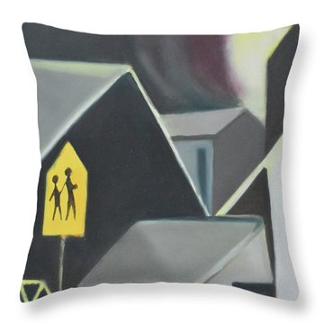 Maplewood Crossing Throw Pillow