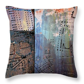 Maps #9 Throw Pillow