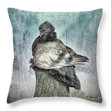 Maragold Throw Pillow by Shari Nees